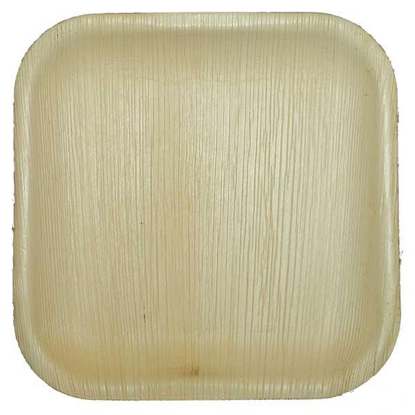 Dulari square plate areca Biodegradables